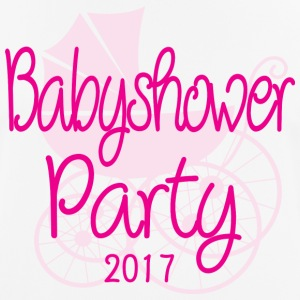 Baby Shower Party 2017 Rose - Andningsaktiv T-shirt herr