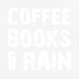 Coffee, books and rainy weather - Men's Breathable T-Shirt