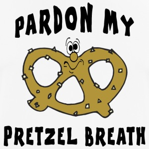 Pretzels Pretzel Pardon My Pretzel Breath - Men's Breathable T-Shirt