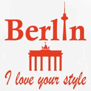 Berlin I love you - mannen T-shirt ademend