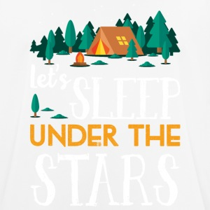 Sleep under the stars - camping - Men's Breathable T-Shirt