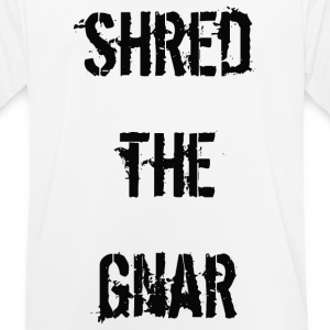 Shred the Gnar - Men's Breathable T-Shirt