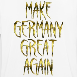 Make Germany Great Again Gold 001 AllroundDesigns - Männer T-Shirt atmungsaktiv