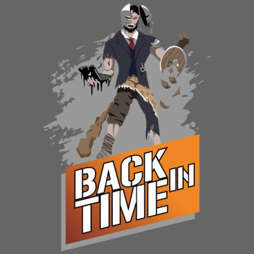 Back in Time - Männer T-Shirt atmungsaktiv