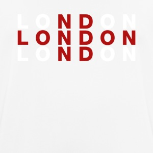 London United Kingdom Flag Shirt - London T-Shirt - Andningsaktiv T-shirt herr