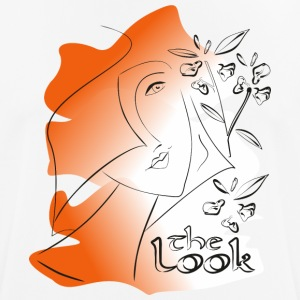 Cara 7 naranja (serie The Look) - Camiseta hombre transpirable