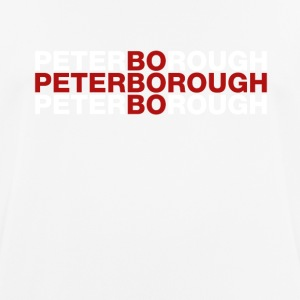 Peterborough Reino Unido camisa de la bandera - Camiseta hombre transpirable