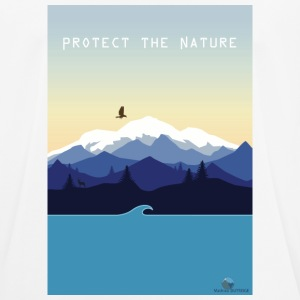Protect Nature - Men's Breathable T-Shirt
