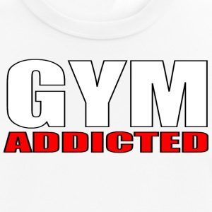 GYM Addicted - Pustende T-skjorte for menn