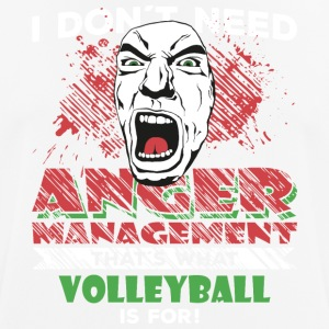 Anger Management - VOLLEYBALL - Männer T-Shirt atmungsaktiv