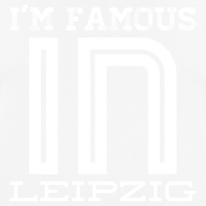 Im famous in leipzig white - Men's Breathable T-Shirt