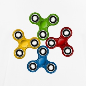 Fidget Spinner 007 Colorful Allround Designs - Men's Breathable T-Shirt