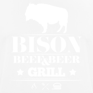 Grill · Bison · Bison grill - Men's Breathable T-Shirt