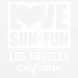 Love, Sun & Fun · Los Angeles · California - Männer T-Shirt atmungsaktiv