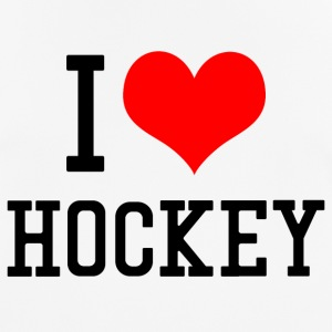 I Love Hockey - Männer T-Shirt atmungsaktiv