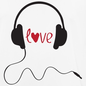 LOVE MUSIC - Pustende T-skjorte for menn