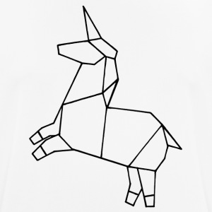 Origami unicorn - Men's Breathable T-Shirt
