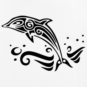 Tribal dolphin - Men's Breathable T-Shirt