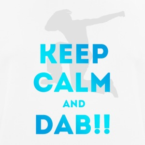 keep calm and dab dance arm above - Men's Breathable T-Shirt