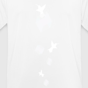 White Colibri - Men's Breathable T-Shirt
