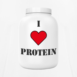 I LOVE PROTEIN - Men's Breathable T-Shirt