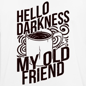 Darkness my old friend - coffee - Men's Breathable T-Shirt