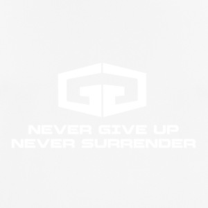 NeverGiveUp White - Men's Breathable T-Shirt