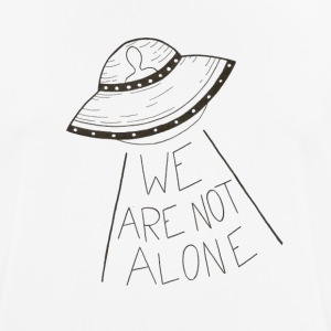 We are not alone - Men's Breathable T-Shirt