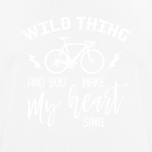 Wild thing and you make my heart sing - Men's Breathable T-Shirt