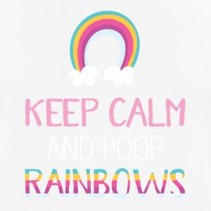 kak Rainbows - mannen T-shirt ademend