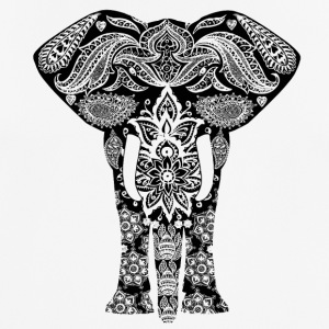 Indian Elephant - Men's Breathable T-Shirt