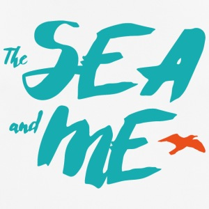 THE SEA AND ME - Men's Breathable T-Shirt