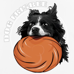 Frisbee Dog Border Collie - Camiseta hombre transpirable