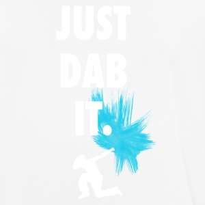 just_dub it dance gesturing symbol typo farbklecks - Men's Breathable T-Shirt