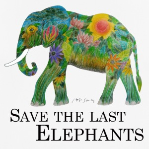 Protect the last elephants - Men's Breathable T-Shirt