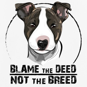 BULLTERRIER blame the deed - Men's Breathable T-Shirt