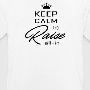 Keep calm black - Men's Breathable T-Shirt