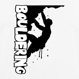 Bouldering Print - Men's Breathable T-Shirt