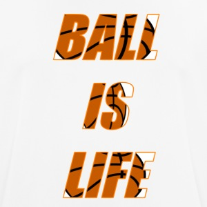 Ball is Life Orange Limited, der Bestseller! - Männer T-Shirt atmungsaktiv