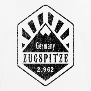 Zugspitze Germany - Used Look - Men's Breathable T-Shirt