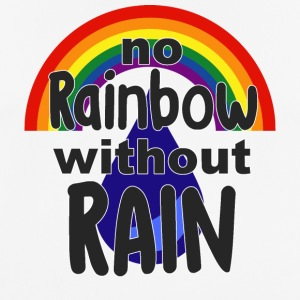 No Rainbow without Rain - Männer T-Shirt atmungsaktiv