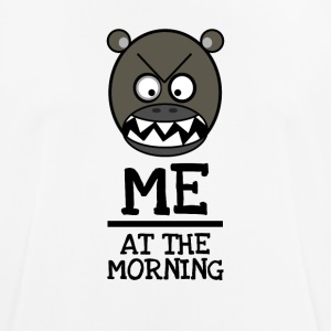 Good Morning Grumpy - ME IN DE OCHTEND - mannen T-shirt ademend