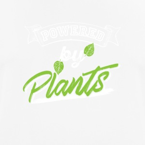 powered by plants - Men's Breathable T-Shirt