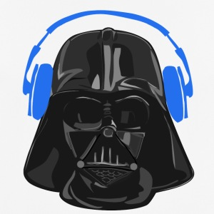 Vader Headset blue - Men's Breathable T-Shirt