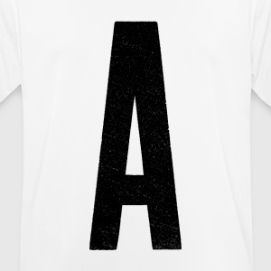 A is for… - Men's Breathable T-Shirt