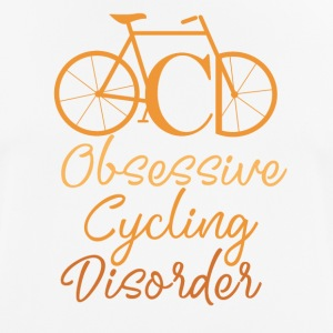 Biking - Obsessive Cycling Disorder - Men's Breathable T-Shirt