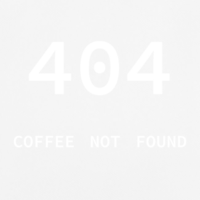 404 Coffee not found - Programmer's Tee