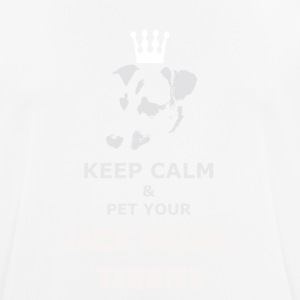 Keep Calm white - Männer T-Shirt atmungsaktiv