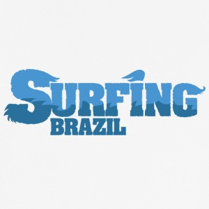 BRAZIL Surfing Country Water - Männer T-Shirt atmungsaktiv