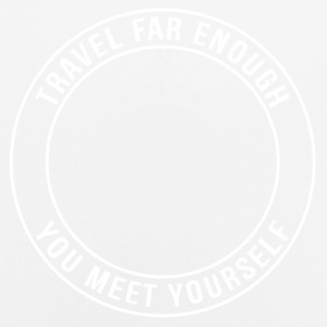 Travel Far Enough, You Meet Yourself - Men's Breathable T-Shirt